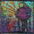 Arbor Abstract Painting by peaceofpistudio