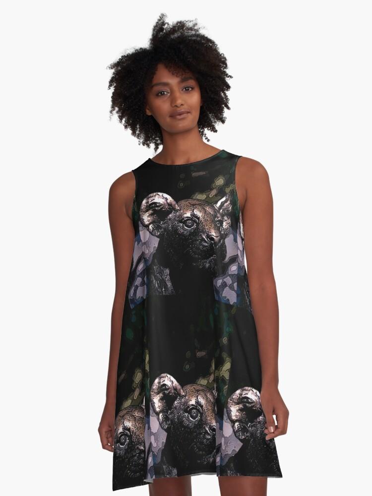 Dangerous A-Line Dress Front
