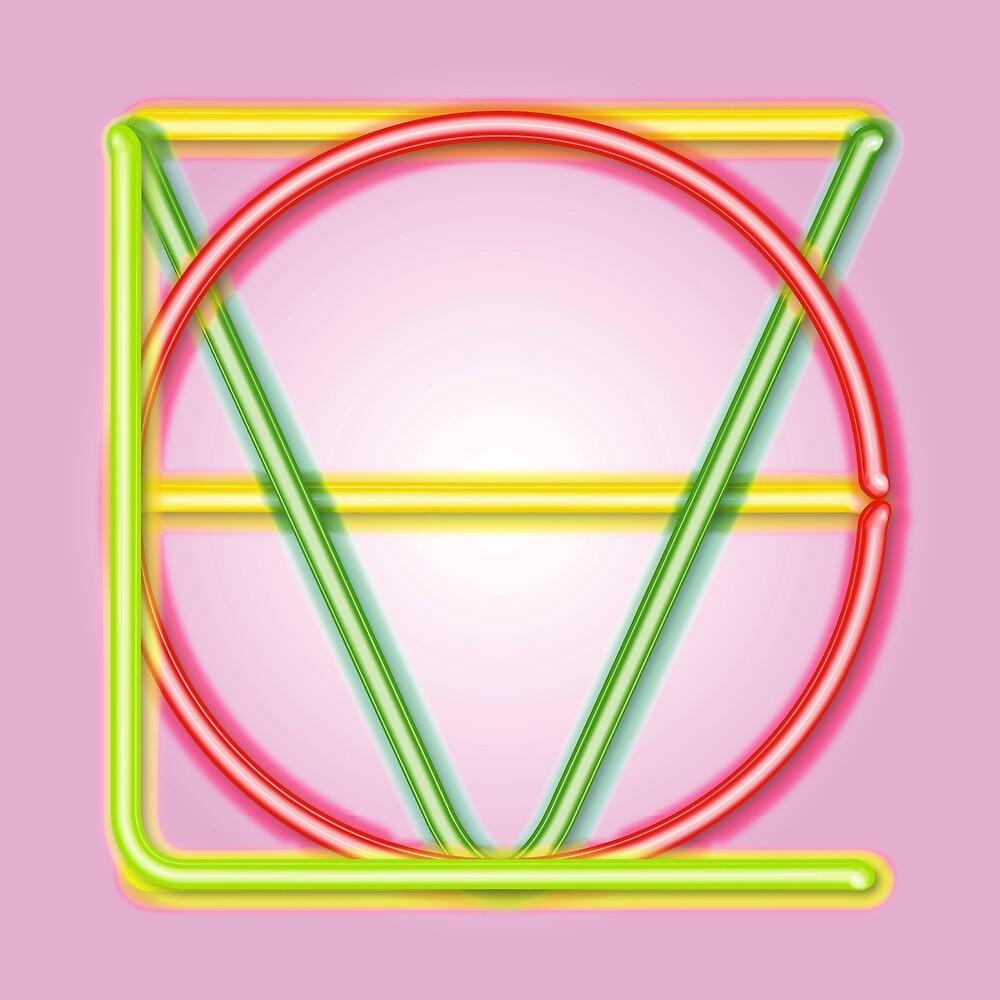 LOVE Neon Green by Art-Frankenberg