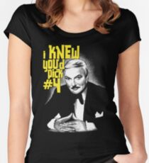 The Great Santini - Columbo Inspired Design Women's Fitted Scoop T-Shirt