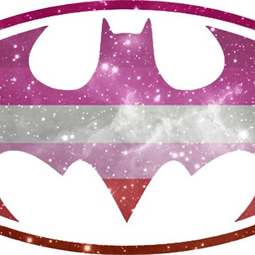 Bat Pride - Lesbian by barflybart