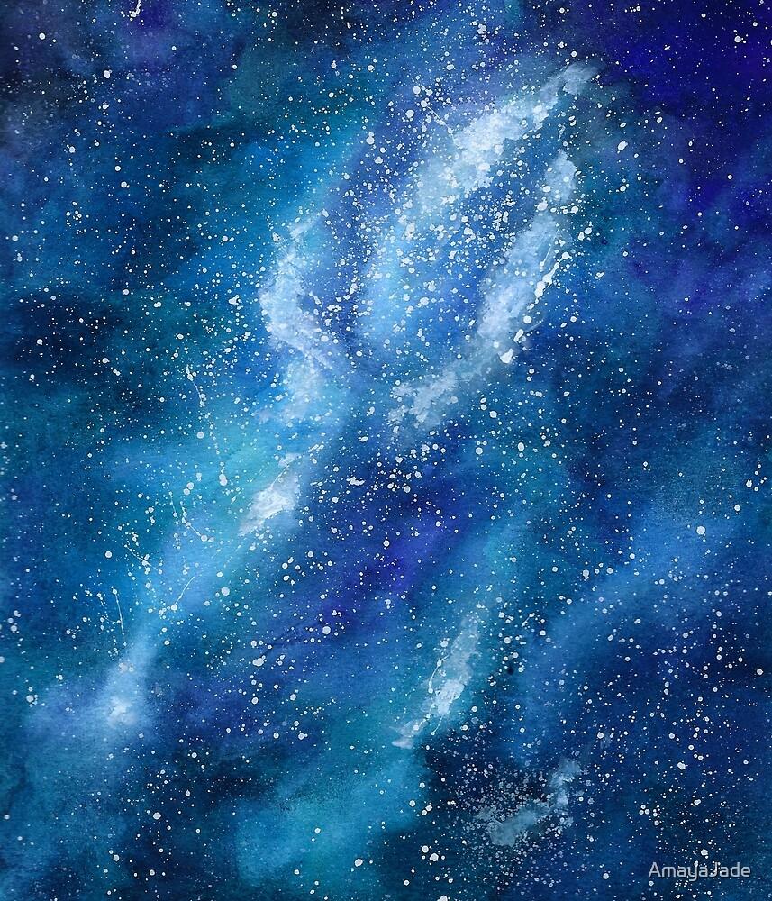 Blue Galaxy by AmayaJade
