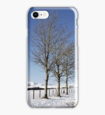 Snow Scene in Cumbria iPhone Case/Skin