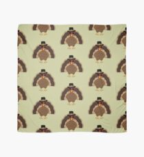 Cool Turkey with sunglasses Happy Thanksgiving Scarf