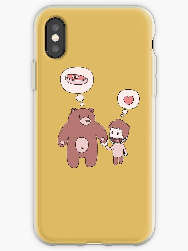 Bear and friend by OcramIllag