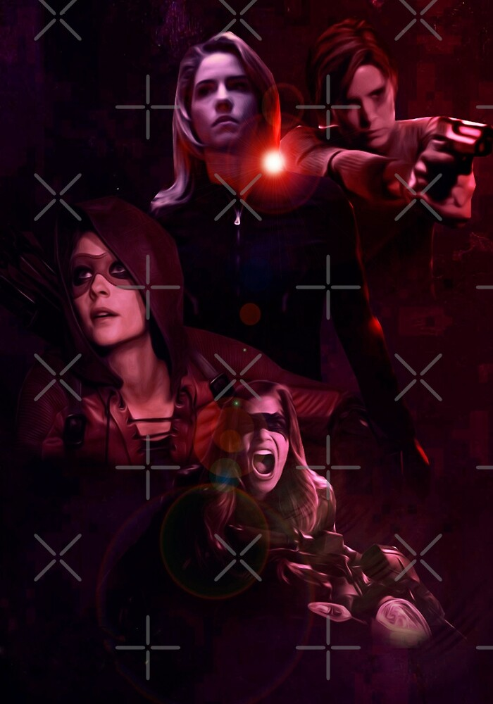 Arrow ladies. by RominaGodoy