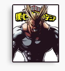 All Might Canvas Print