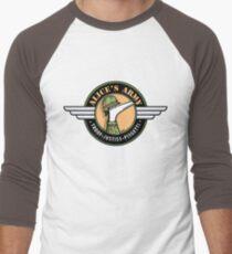 Alices Armee! (Gewinn für Greyhound Adoption Program New South Wales) Baseballshirt mit 3/4-Arm
