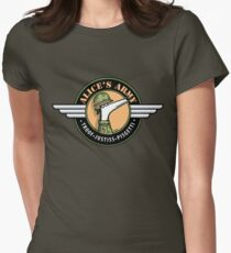 Alice's Army! (profits to Greyhound Adoption Program New South Wales) Women's Fitted T-Shirt