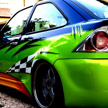 Modified sports car  (2008) by djaphotography