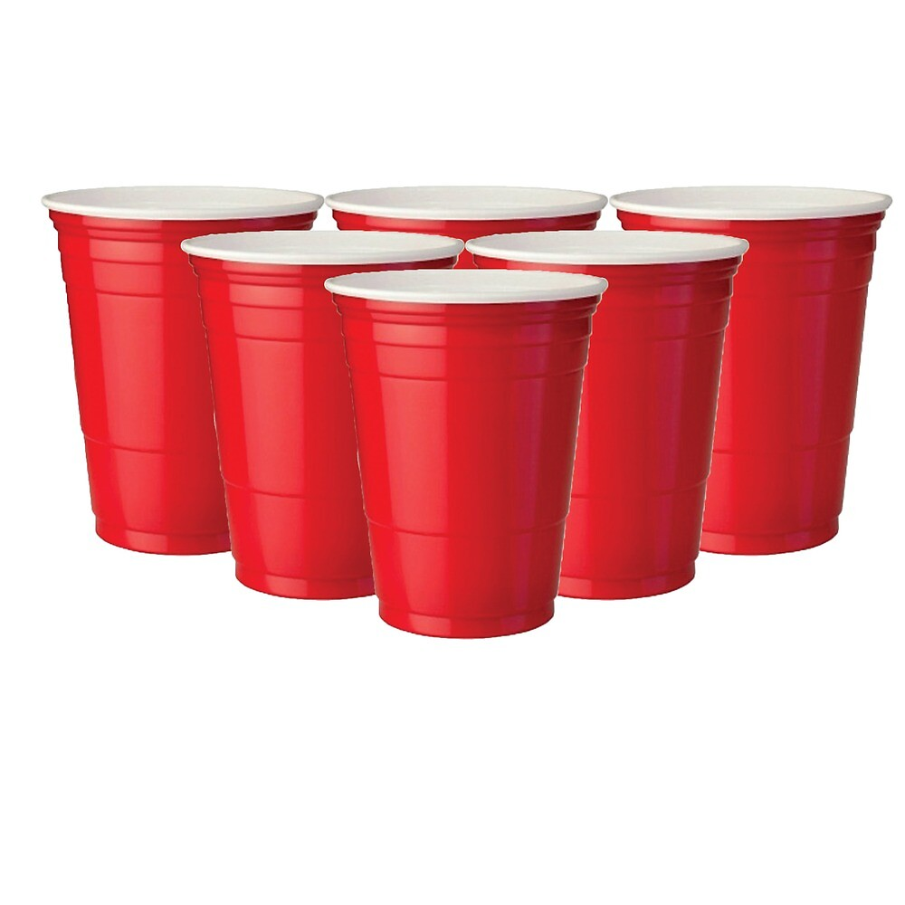 Red Solo Cup Beer Pong Formation by abbsgross