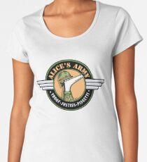 Alice's Army! (profits to Greyhound Adoption Program New South Wales) Women's Premium T-Shirt