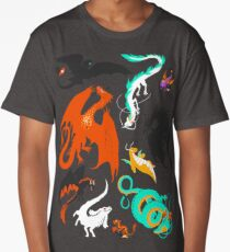 A flight with Dragons Long T-Shirt