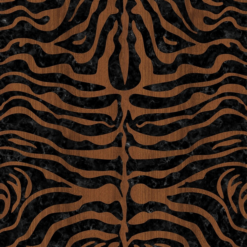 SKIN2 BLACK MARBLE & BROWN WOOD by johnhunternance
