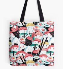 Kawaii Sushi-Menge Tote Bag