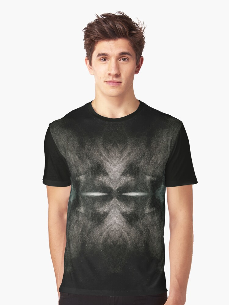 Warrior of Darkness Graphic T-Shirt Front
