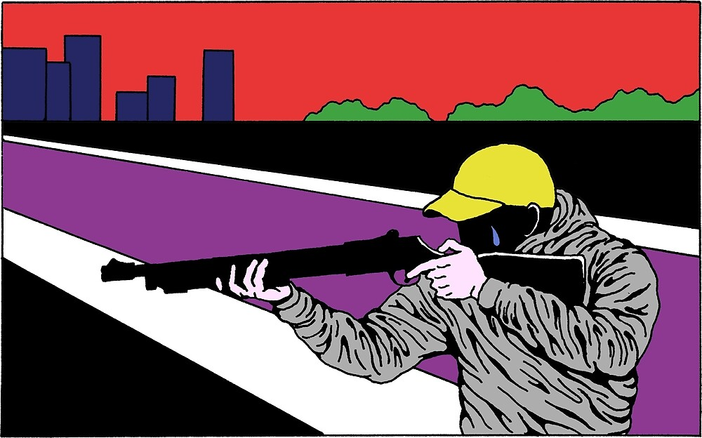 crying shotgunner by olof hanvark