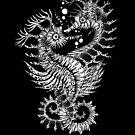 «Tatuaje Tribal Seahorse animal» de Ruta Dumalakaite