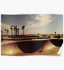 Skatepark Venice Beach Poster
