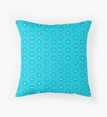 Abstract Turquoise Pattern 10 Throw Pillow