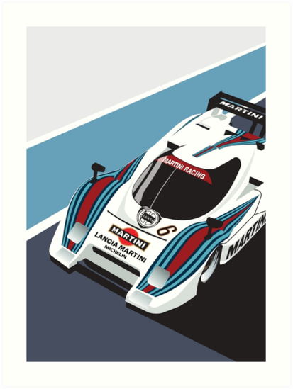 Lancia LC2 by Peter Dials