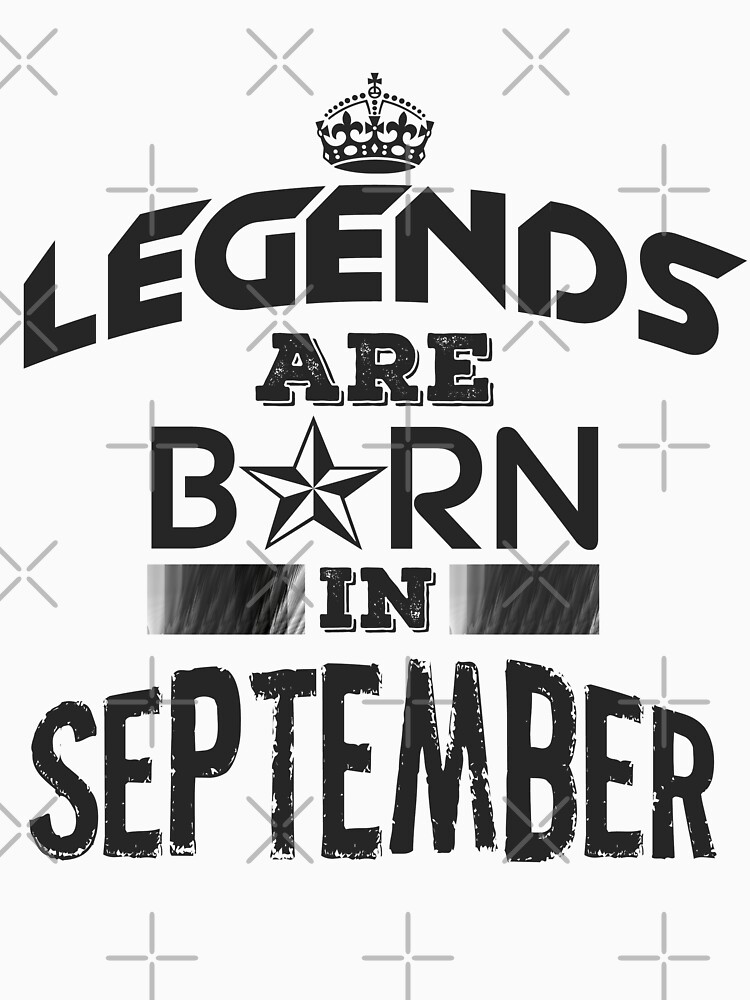 Legends Are Born - September by GoldyMaster07