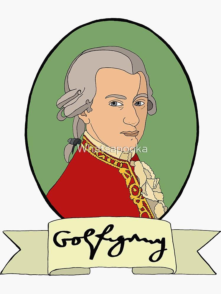 Wolfgang Amadeus Mozart by Whatsapooka