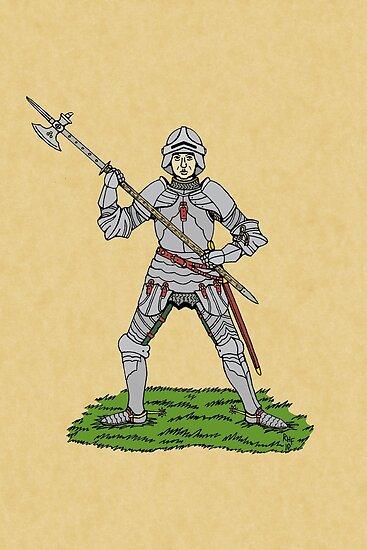 Fifteenth Century English Knight by Richard Fay