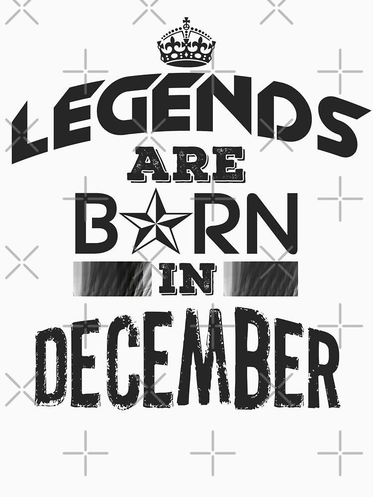 Legends Are Born - December by GoldyMaster07