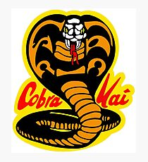 Cobra Kai Karate Kid Photographic Print