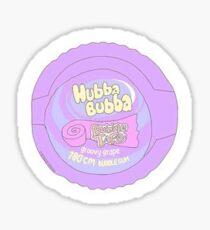 retro hubba bubba Sticker