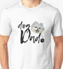 Dog Breed Pomeranian Dad Unisex T-Shirt