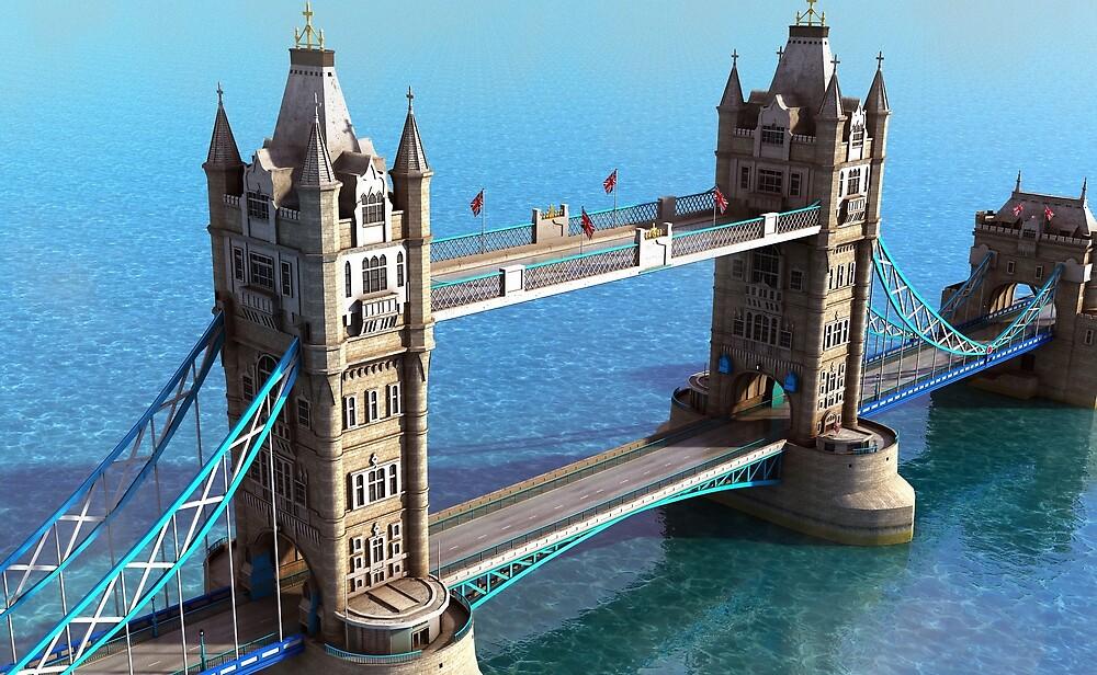 Tower Bridge. London by Marc  Mons