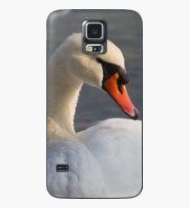 swan at lake Case/Skin for Samsung Galaxy