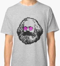 ROSE-COLORED GLASSES KARL MARX Classic T-Shirt