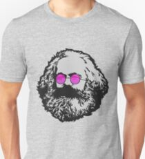 ROSE-COLORED GLASSES KARL MARX Unisex T-Shirt