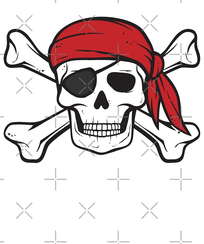 Pirate Crossbones and Skull by MillennialDude