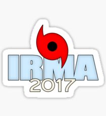 Hurricane Irma 2017 Sticker Sticker