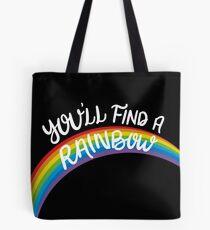 Kesha - Rainbow (White Font) Tote Bag
