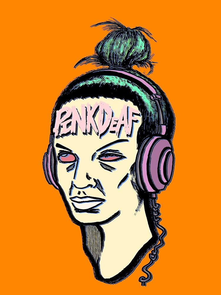 DEAFHEAD by PINKDEAF