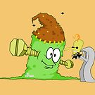Happy Halloween From Dr. Frankenstool and his Monster Turd! by Bill Schiffbauer