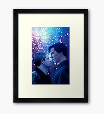 Say it now Framed Print