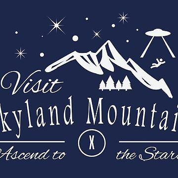 Skyland Mountain by hybridmindart