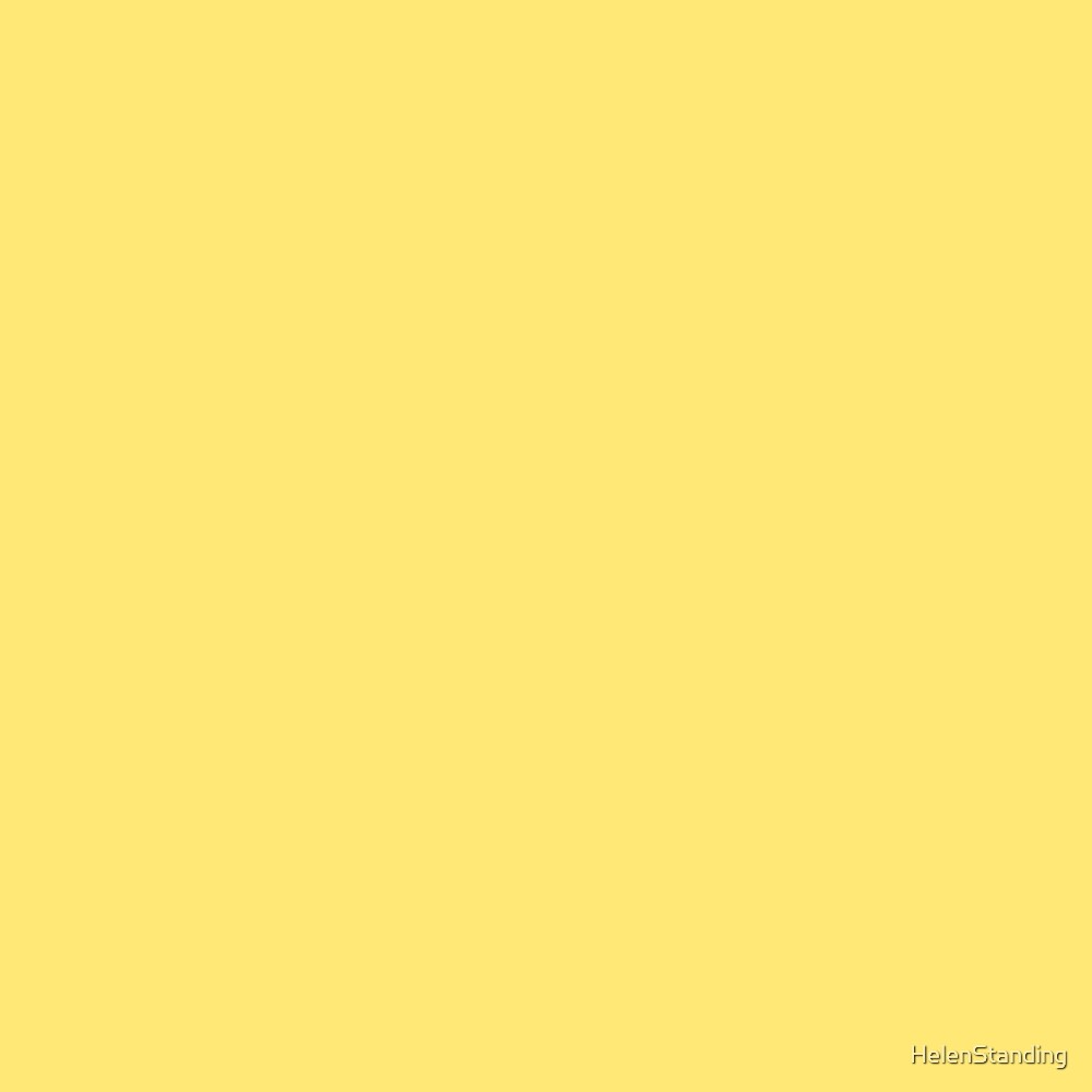 Solid - Yellow (B5.5) by HelenStanding