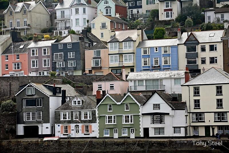 """""""Bayard's Cove, Dartmouth, Devon"""" by Tony Steel   Redbubble"""