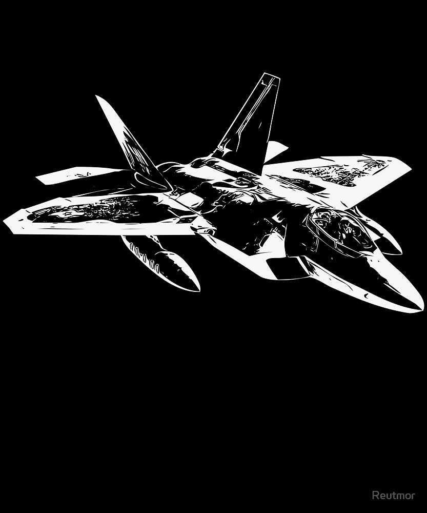 Fighter Airplane - Cool Battle Jet Aeroplane  by Reutmor