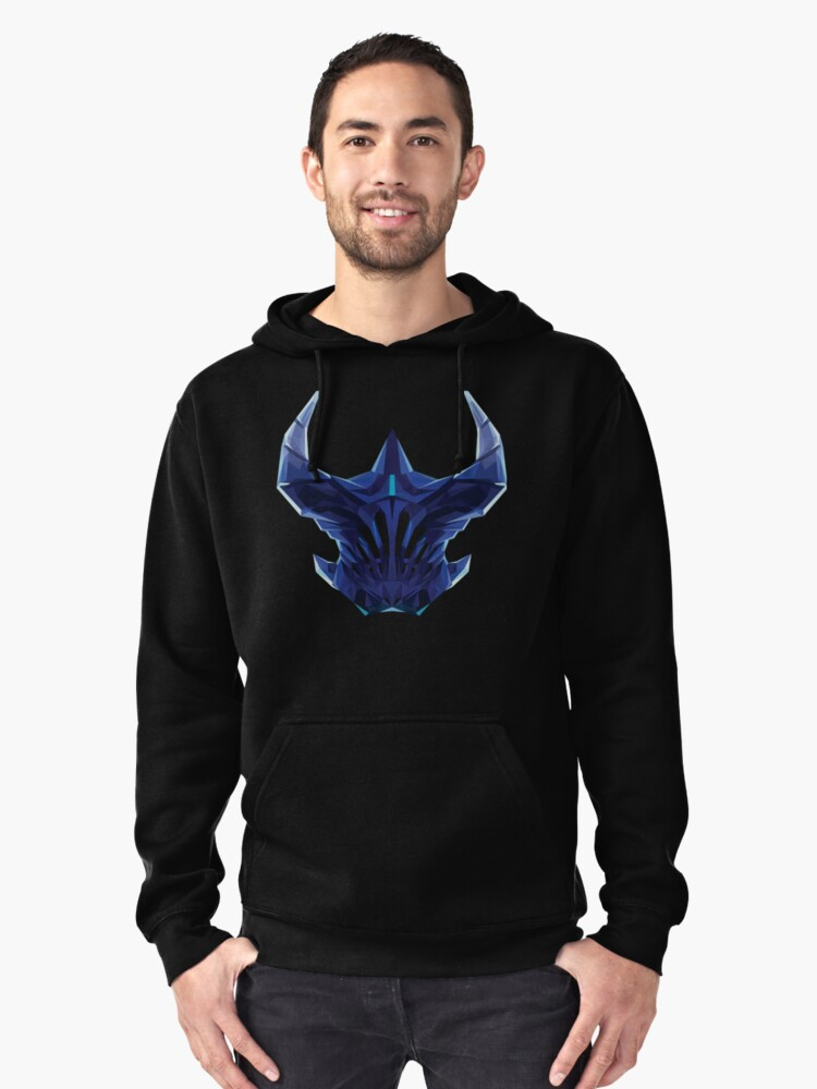 Razor Low Poly Art Pullover Hoodie Front