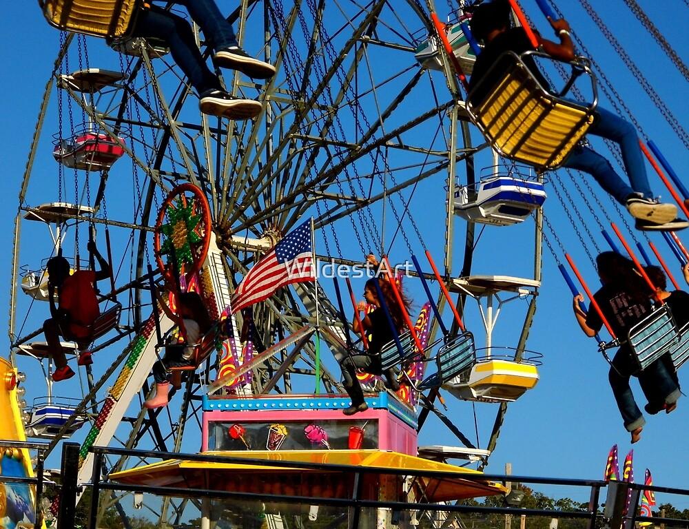 Ferris And Fun by WildestArt