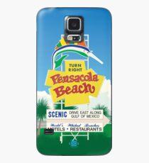 """""""Pensacola Beach Sign"""" Case/Skin for Samsung Galaxy"""
