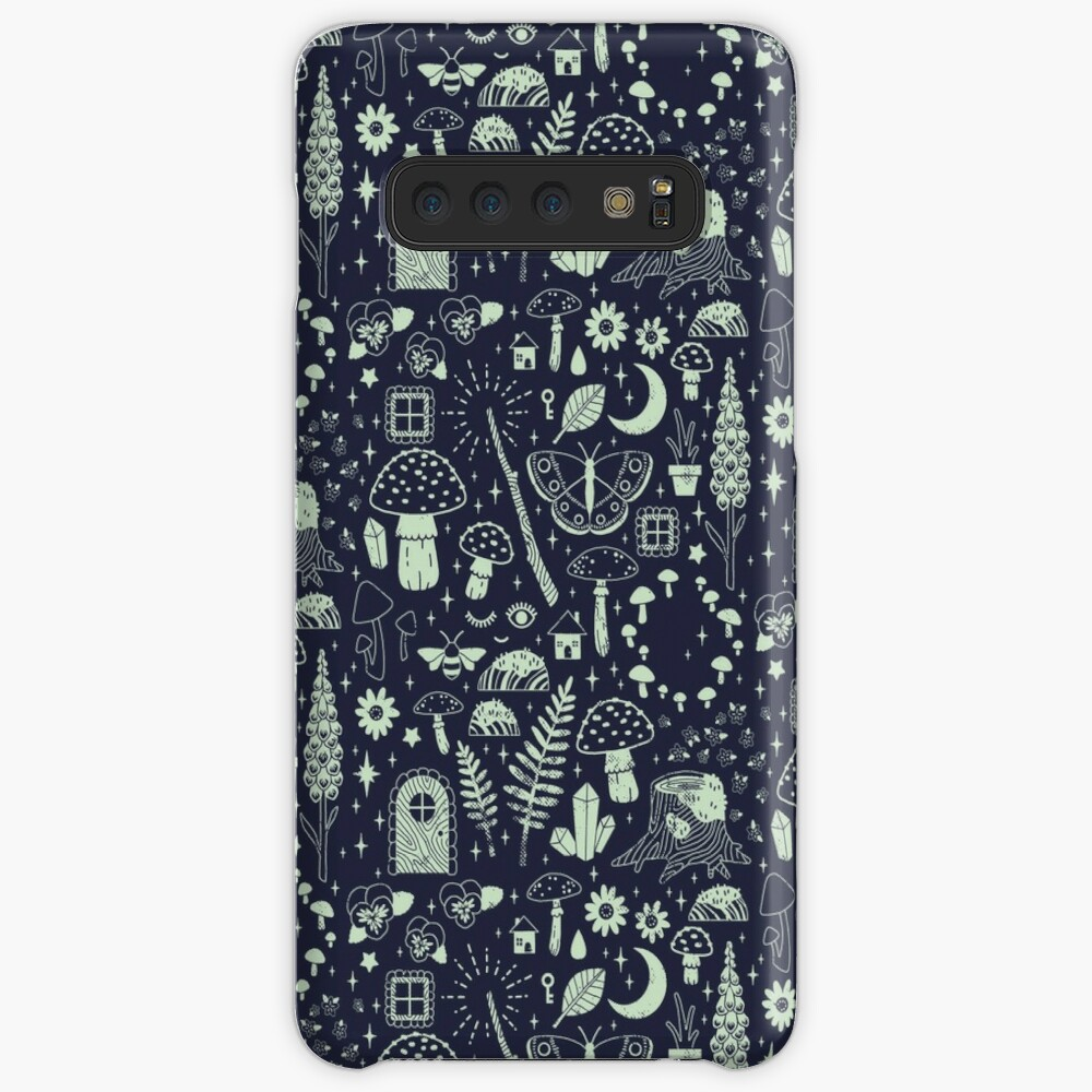 Fairy Garden: Midnight Case & Skin for Samsung Galaxy